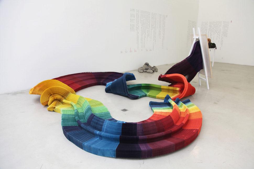 Li Hongbo, Dream, 2012, Paper, easel, Various size