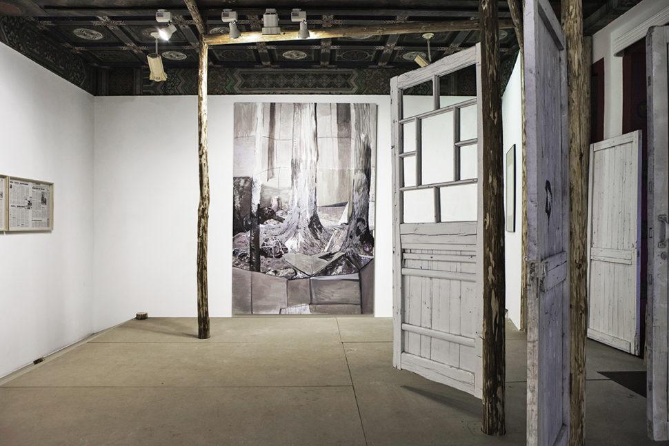 Chen Yujun, View of The Second Door 03, 2015