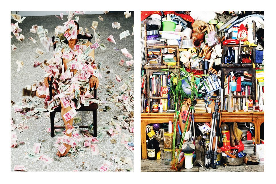 He Yunchang, Objects off Bodies, 2006, Photography, 162 x 126 cm (x2)
