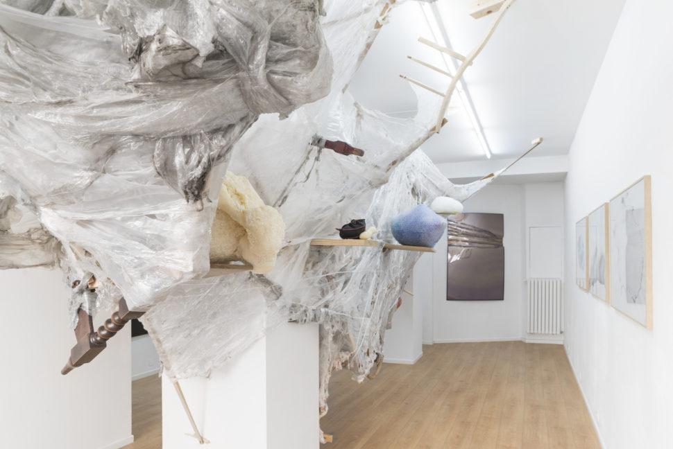 Tatiana Wolska & Guest Jérôme Robbe, Exhibition view of