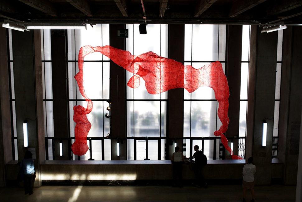 Tatiana Wolska, exhibition view of