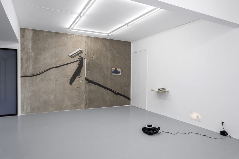 Exibition view of Politics of Discontent at Irène Laub Gallery, Brussels (BE), 2018