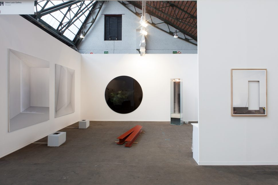Exhibition view of Irène Laub Gallery's Booth at Art Brussels 2017
