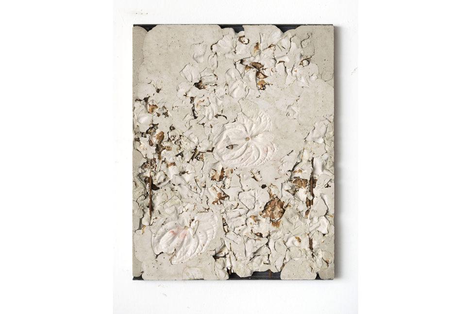 Alessandro Piangiamore, Ieri Ikebana 280420171, 2017, 64 x 50 x 2,5 cm