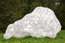 Tatiana Wolska, Untitled, 2013, Thermo welded plastic, 170 x 100 x 120 cm