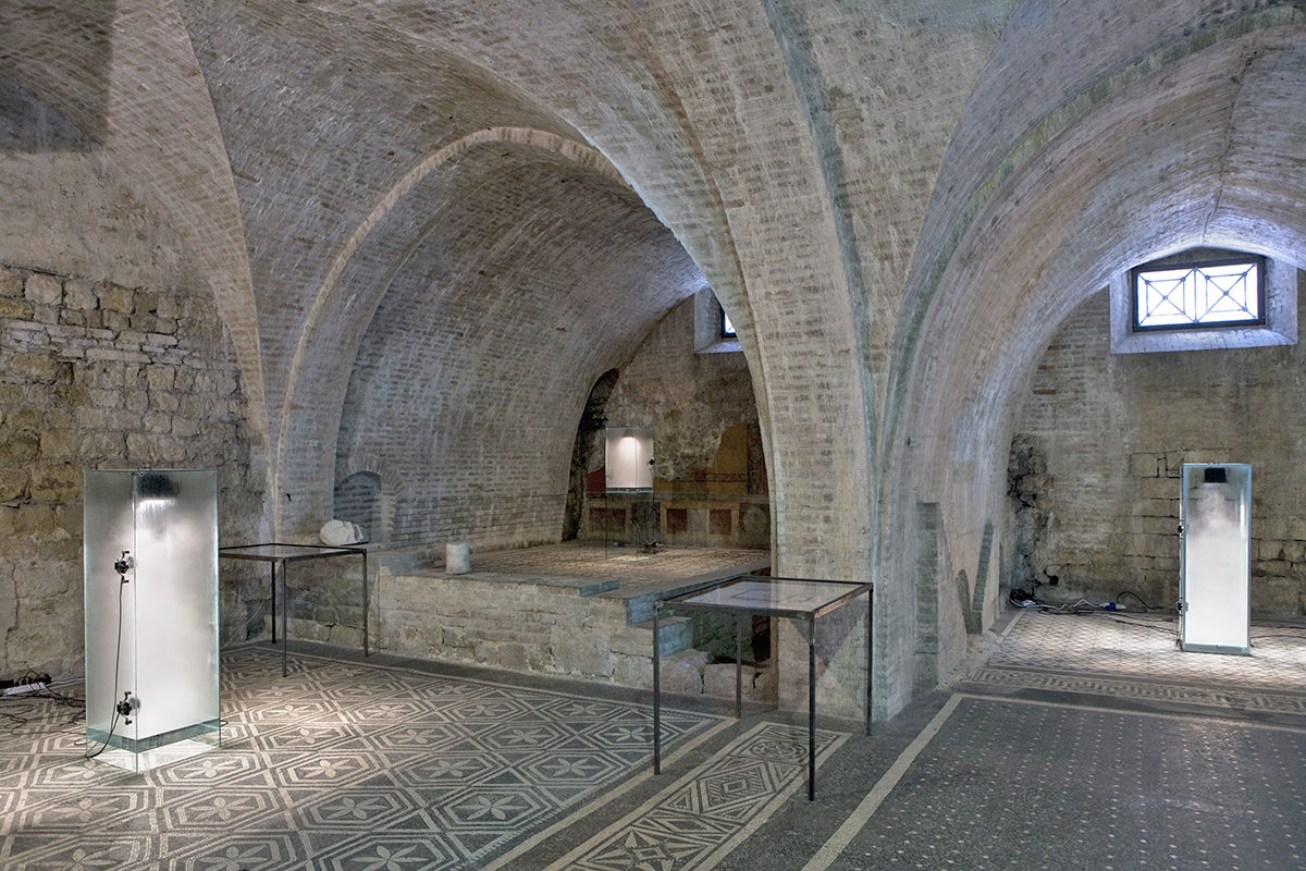 Donato Piccolo, Installation view at Casa Romana, Festival dei due mondi, Spoleto (IT) 2009