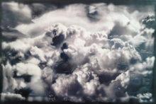 Donato Piccolo, Studio about a cloud, 2014, Oil on canvas, 225 x 135 cm