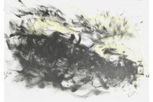 Tatiana Wolska, Untitled, 2019, Pen and acrylic paint on paper, 30 x 40 cm