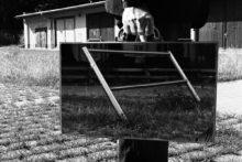Rui Calçada Bastos, The mirror suitcase man, 2004, Inkjet print, 85 x 110 cm