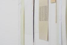 Gudny Rosa Ingimarsdottir, valuable leftlovers, 2019, mixed media on paper, 70,3 x 106 cm (framed) (detail)