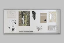 Gudny Rosa Ingimarsdottir, vitrine - street-names, 2019, Mixed media, 8 x 55 x 130 cm