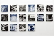Eirene Efstathiou, Endnotes, 2013, Paper matrix lithograph, each panel 13 x 13 cm