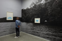 Exhibition view of