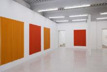 Athina Iannou, exhibition view at centre d'art Le LAIT, Hotel de Vivies (FR), 2008 (photo Jean-Paul Planchon)