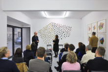 Talk with Athina Ioannou and Luk Lambrecht at Irène Laub Gallery, Brussels (BE), 2018