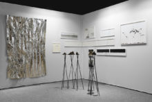 Lucile Bertrand, exhibition view of Drawing Now, Paris (FR), 2019