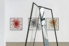 José Pedro Croft, Gauthier Hubert, Athina Ioannou and Roeland Tweelinckx, exhibition view of Art Brussels (BE), 2019