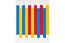 Bernard Villers, 3 couleurs, 1974, silkscreen printing on paper, 57 x 73 cm