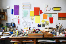 Bernard Villers' studio, 2020