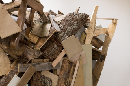 Tatiana Wolska, Habitat potentiel #4, 2019, wood, variable dimensions