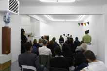 Artist Talk with Roeland Tweelinkcx and Els Wuyts at Irène Laub Gallery, Brussels (BE), 2019