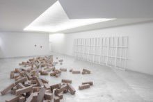 Fernanda Fragateiro, exhibition view of
