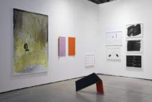 Panos Papadopoulos and Bernard Villers, exhibition view of Vienna Contemporary (AT), 2019
