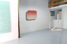 Guillermo Mora's studio, 2018