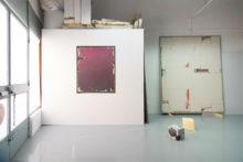 Guillermo Mora's studio, 2019