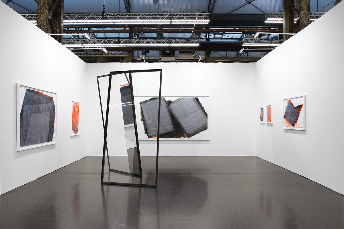 José Pedo Croft, exhibition view at Art Düsseldorf (DE), 2019