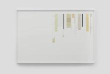 Gudny Rosa Ingimarsdottir, valuable leftlovers, 2019, mixed media on paper, 70,3 x 106 cm (framed)