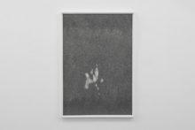 Gudny Rosa Ingimarsdottir, untitled - humide, 2019, Ink, arababic gum, pencil, diverse papers, 103,4 x 71,4 cm (framed)