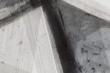 José Pedro Croft, Untitled, 2018, Aquatint, mezzotint, aquafort, and dry point, 148 x 198 cm (detail) (Ed. 10/15)