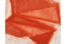 José Pedro Croft, Untitled, 2019, Aquatint, mezzotint, aquafort, and dry point, 39 x 49 cm (ed. o16/24)
