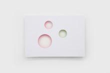 Bernard Villers, La couleur n'existe pas, 2008, Acrylic on paper, 50 x 72 cm (Ed. 7/30)