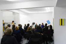 Talk with Bernard Villers and Cécile Vandernoot at Irène Laub Gallery, Brussels (BE), 2020B