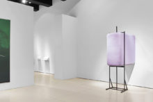 Guillermo Mora, exhibition view of