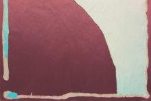 Guillermo Mora, Más aire (XXVIII) / More air (XXVIII), 2017, Acrylic on paper, 120 x 100 cm (detail)