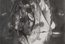Pedro A.H. Paixão, Untitled, 2017, Graphite on paper, 29,7 x 21 cm (detail)