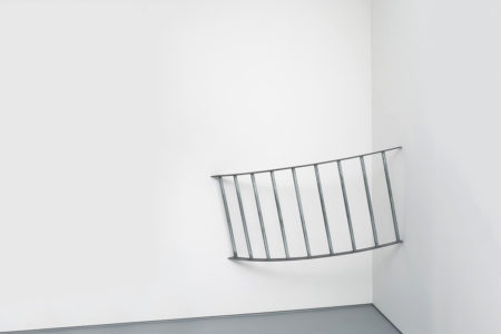 José Pedro Croft, Untitled, 2017, Iron, 94 x 142 x 67 cm