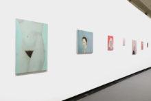 Gauthier Hubert, exhibition view of