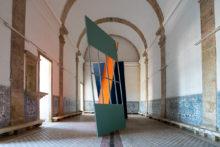 José Pedro Croft, exhibition view of