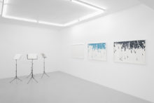 Lucile Bertrand, exhibition view of