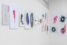 Tatiana Wolska, exhibition view of