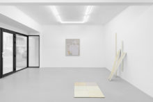 Guillermo Mora and Bernard Villers, exhibition view of