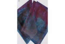 José Pedro Croft, Untitled, 2019, Gouache, varnish, Indian ink on paper, 112 x 82 cm (framed)