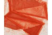 José Pedro Croft, Untitled, 2019, Aquatint, mezzotint, aquafort, and dry point, 39 x 49 cm (ed. 16/24)