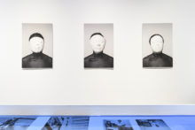 Michèle Magema, exhibition view of