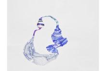 Tatiana Wolska, Untitled, 2020, Pen on paper, 50 x 65cm
