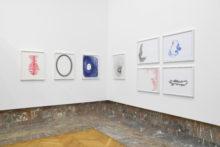 Tatiana Wolska, exhibition view at Art on Paper, BOZAR, Brussels (BE), 2021